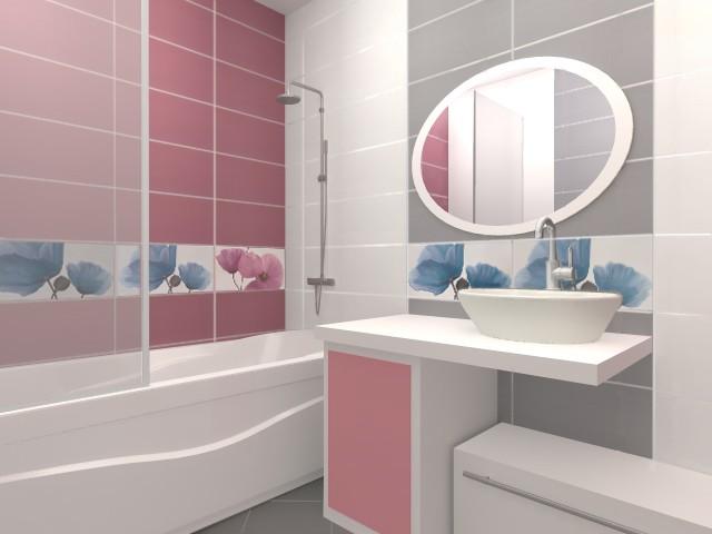 Дизайн ванной комнаты 4 кв.м со стиральной